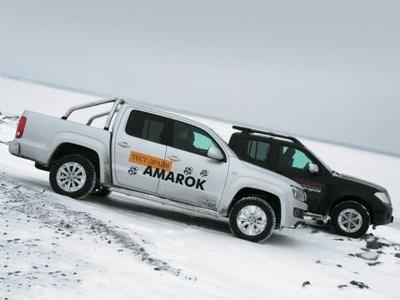 Volkswagen Amarok и Nissan Navara. Фото Игоря Кузнецова, 5 колесо