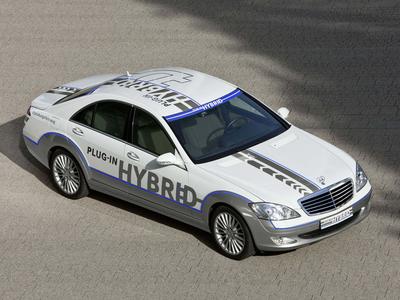 Mercedes-Benz S500 Plug-in Hybrid Concept. Фото Mercedes-Benz