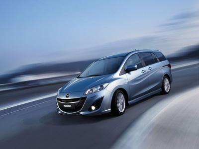 Mazda 5. Фото Mazda