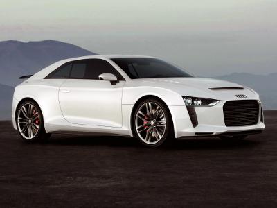 Audi Quattro Concept. Фото Audi