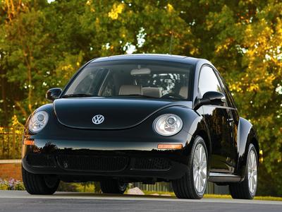 Volkswagen New Beetle. Фото Volkswagen