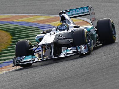 Фото Mercedes GP