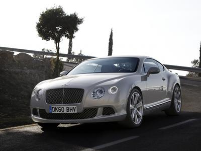 Bentley Continental GT. Фото Bentley