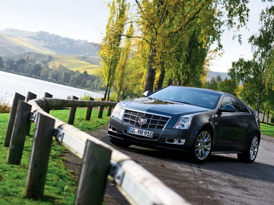 Cadillac CTS Coupe. Фото Никиты Гудкова с сайта autoreview.ru
