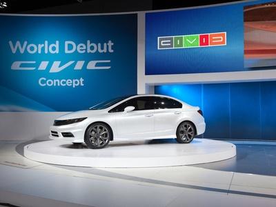 Honda Civic Concept. Фото Honda