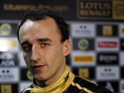Роберт Кубица. Фото Lotus Renault GP