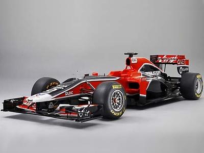 MVR-02. Фото Marussia Virgin Racing