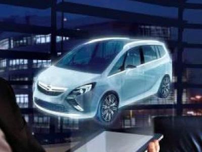Прототип нового Opel Zafira. Иллюстрация Opel