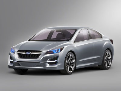 Subaru Impreza Concept. Иллюстрация Subaru
