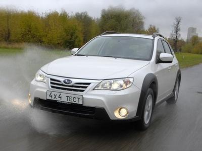 Subaru Impreza XV. Фото Александра Страхова-Баранова с сайта media.club4x4.ru