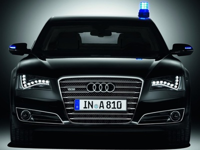 Audi A8 L Security. Фото Audi