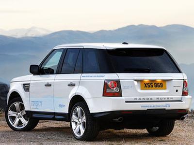 Range_e. Фото Land Rover