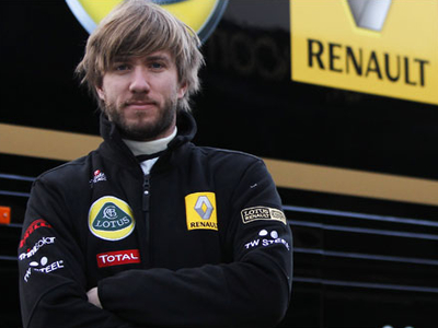 Ник Хайдфельд. Фото Lotus Renault GP