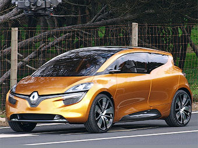 Renault R-Space. Фото с сайта autobild.de