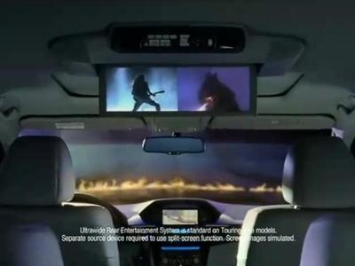 Кадр из рекламного ролика компании Honda