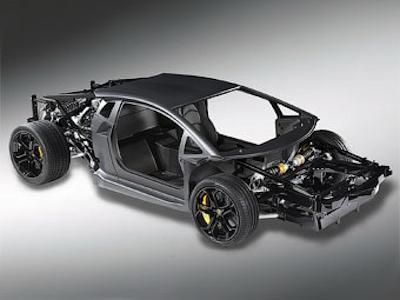 Шасси Lamborghini Aventador LP700-4. Фото Lamborghini