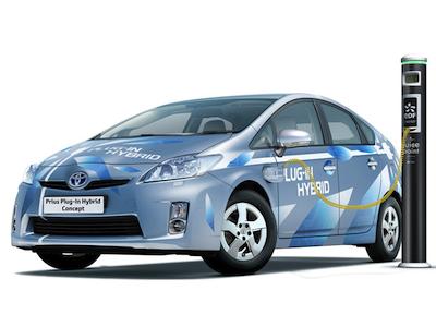 Toyota Prius Plug-in Hybrid Concept. Фото Toyota