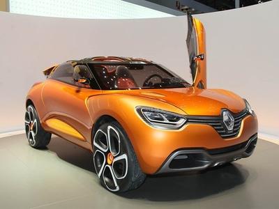 Renault Captur. Фото с сайта autocar.co.uk