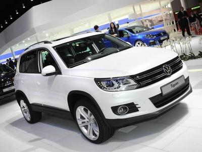 Volkswagen Tiguan. Фото с сайта worldcarfans.com