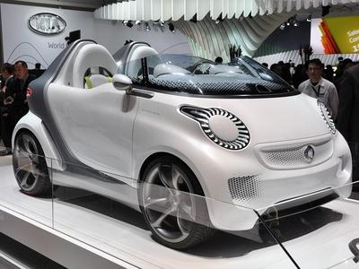 Smart Forspeed Concept. Фото с сайта autoblog.com