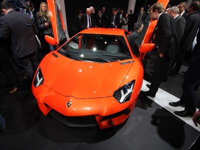 """Lamborghini Aventador LP 700-4. Фото """"Авто.Ленты"""""""