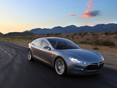 Tesla Model S Concept. Фото Tesla