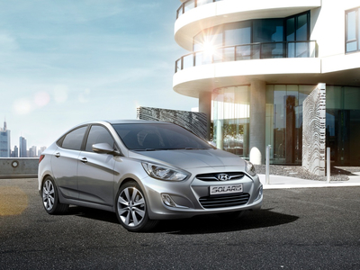 Hyundai Solaris. Фото Hyundai