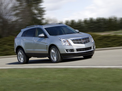 Cadillac SRX. Фото Cadillac