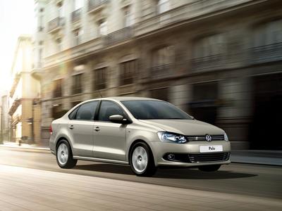 Volkswagen Polo Sedan. Фото Volkswagen