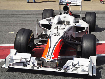 HRT F111. Фото с сайта f1news.ru