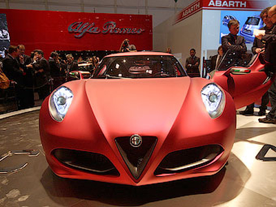 Концепт-кар Alfa Romeo 4C. Фото Ленты.ру