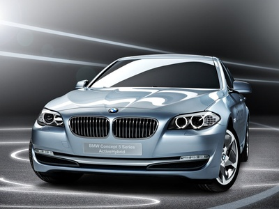 BMW 5 Series ActiveHybrid Concept. Изображение BMW