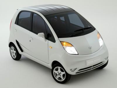 Tata Nano Luxury. Фото Tata