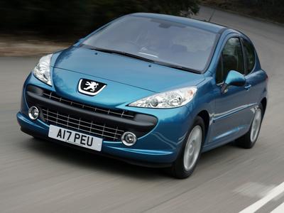 Peugeot 207. Фото Peugeot