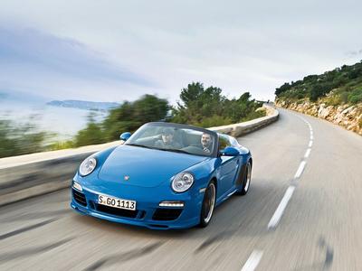 Porsche 911 Speedster. Фото Юрия Ветрова и фирмы Porsche с сайта autoreview.ru