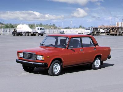 """Lada 2107. Фото """"АвтоВАЗа"""""""