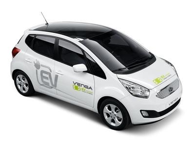 KIA Venga EV Concept. Фото KIA