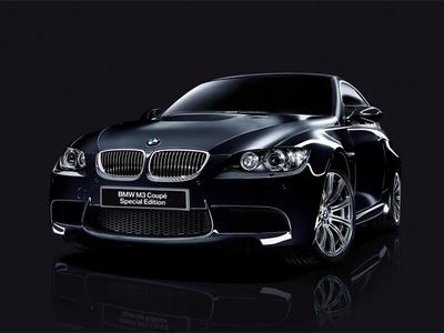 BMW M3 Matte Edition. Фото BMW