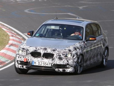 Новое поколение BMW 1 серии. Фото с сайта worldcarfans.com
