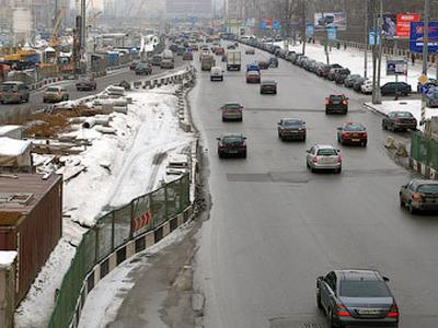 Ленинградское шоссе. Фото Ленты.ру