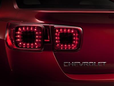 Фрагмент изображения Chevrolet Malibu 2013. Фото Chevrolet