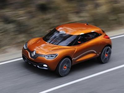 Renault Captur Concept. Фото Renault
