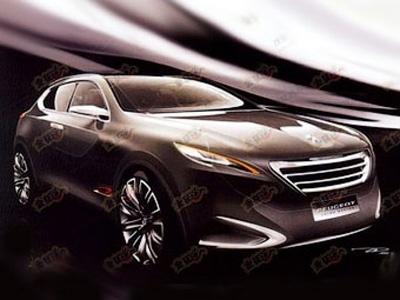 Новый концепт-кар Peugeot