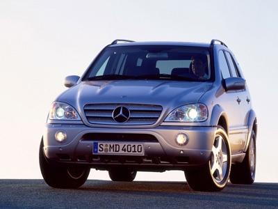 Ml 55 AMG. Фото Mercedes-Benz