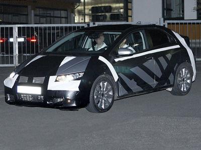 Honda Civic следующего поколения. Фото с сайта autoexpress.co.uk