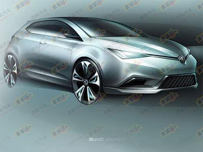 Прототип MG5. Иллюстрация с сайта chinacartimes.com