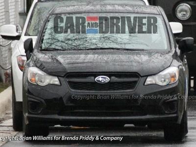 Седан Subaru Impreza нового поколения. Фото с сайта caranddriver.com