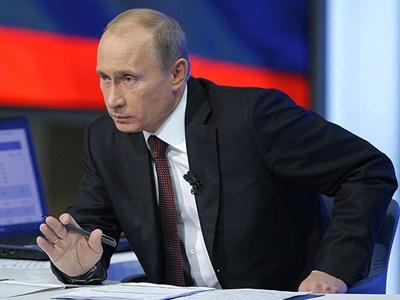 В.В.Путин. Фото пресс-службы Правительства РФ