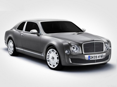 Bentley mulsanne coupe. Фото Bentley