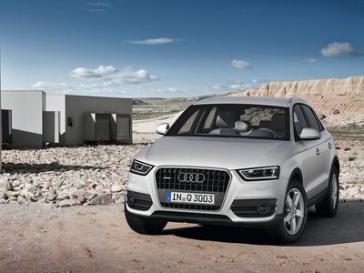 Audi Q3. Фото Audi